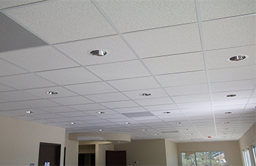Snow Ceiling Acoustic Panel