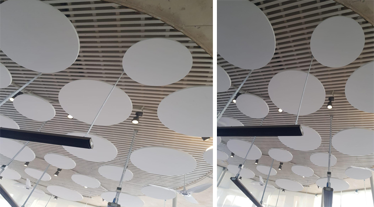 sound absorption ceiling